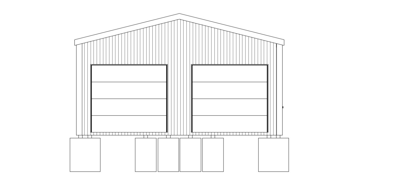 24 39 w x 50 39 l pole barn for 24 x 32 pole barn plans
